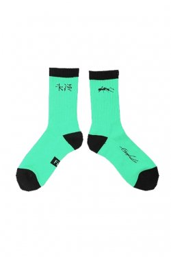 MUZE x Fun - 未渦SOCKS (MINT)