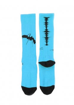 MUZE x Fun - NOISE SOCKS (L.BLUE)