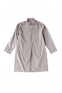【50%OFF】PARADOX-SUPER LONG SHIRTS(GRAY) パラドックス シャツ