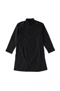 【30%OFF】PARADOX-SUPER LONG SHIRTS(BLACK) パラドックス シャツ