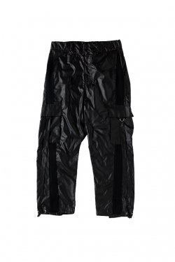 【50%OFF】PARADOX - NYLON CARGO PANTS(BLACK) パラドックス カーゴパンツ