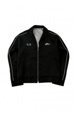 MUZE - FACE SOUVENIR JACKET (BLACK)