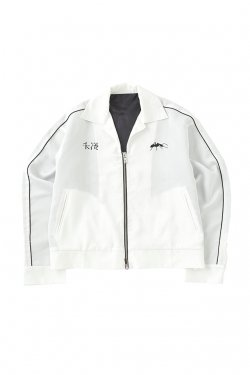 MUZE - FACE SOUVENIR JACKET (WHITE)
