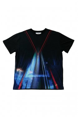 PARADOX - GRAPHIC BIG TEE (ASTEROID) パラドックス Tシャツ