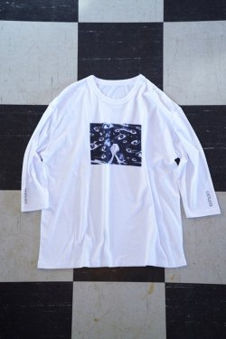 "【20%OFF】LISTLESS - ""Ghoul"" 五分袖Tシャツ"