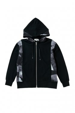 【50%OFF】PARADOX - GRAPHIC ZIP PARKA(VIVALITY) パラドックス パーカー