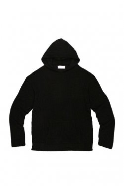 PARADOX - KNIT PARKA (BLACK)