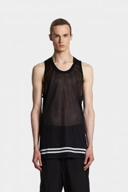 ODEUR - LOOSE SINGLET (BLACK)
