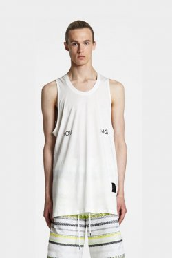 ODEUR - LOOSE SINGLET (CREAM)