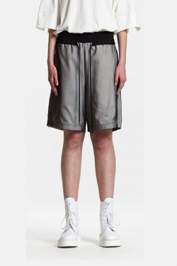 ODEUR - CORD SHORTS (CREAM/BLACK)