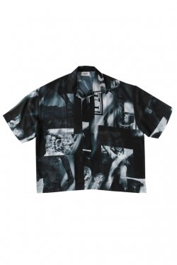 PARADOX - GRAPHIC POLO SHIRTS (BLACK)