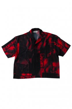 PARADOX - GRAPHIC POLO SHIRTS (SCARLET)