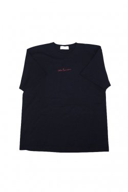 JieDa - EMBROIDERY S/S T-SHIRT (BLACK)