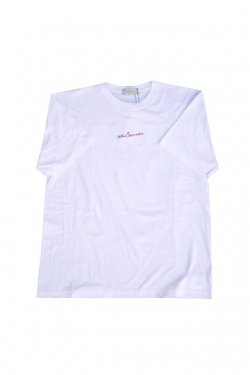 JieDa - EMBROIDERY S/S T-SHIRT (WHITE)