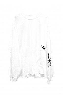 FORTY FOUR - SICK L/S TEE (WHITE)