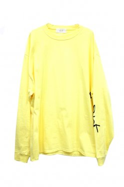 FORTY FOUR - SICK L/S TEE (YELLOW)