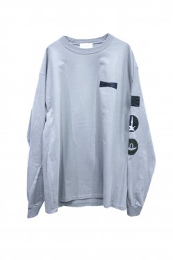 FORTY FOUR - ELITE L/S TEE (GRAY)