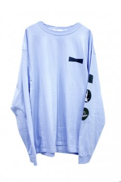 FORTY FOUR - ELITE L/S TEE (L.BLUE)