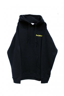 【20%OFF】FORTY FOUR - NOSTALGIA HOODIE (BLACK)