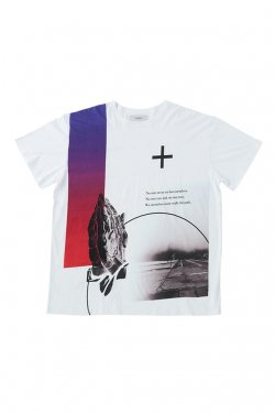 PARADOX - GRAPHIC BIG TEE (DEVOTION) パラドックス Tシャツ