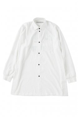 MUZE - EUCLID BIG SHIRTS (WHITE) ミューズ シャツ