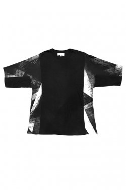 PARADOX - SWITCHING RELAX TEE (BLACK) パラドックス Tシャツ