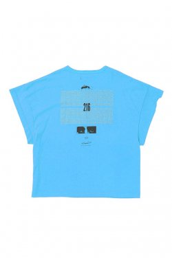 MUZE - EUCLID TEE (LIGHT BLUE) ミューズ Tシャツ