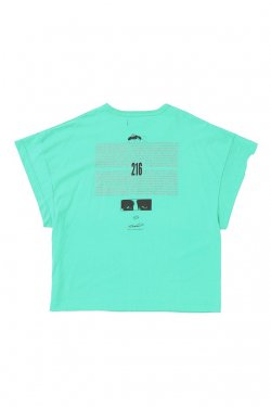 MUZE - EUCLID TEE (MINT GREEN) ミューズ Tシャツ