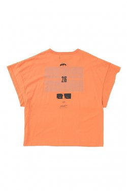 MUZE - EUCLID TEE (ORANGE) ミューズ Tシャツ