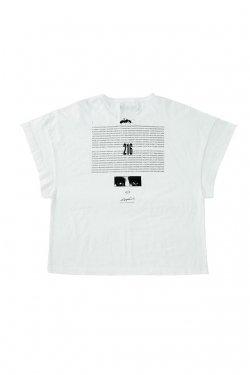 MUZE - EUCLID TEE (WHITE) ミューズ Tシャツ
