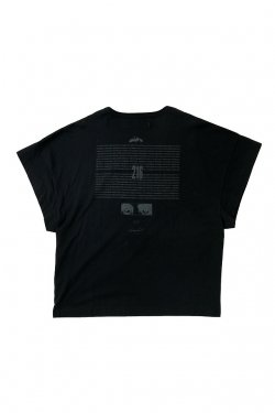 MUZE - EUCLID TEE (BLACK) ミューズ Tシャツ