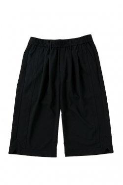 MUZE - BASKET SLACKS (BLACK)  ミューズ パンツ スラックス