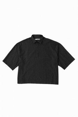 MUZE - OUTLAST BIG POLO SHIRTS (BLACK) ミューズ パンツ スラックス