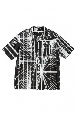 MUZE - GRAPHIC SHIRTS (BLACK) ミューズ シャツ