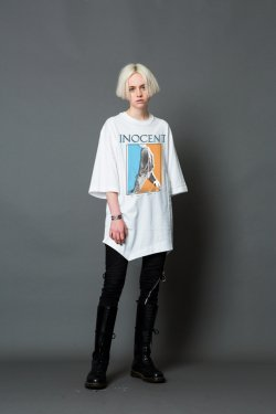 MUZE - INOCENT LAYERD S/S TEE(WHITE)