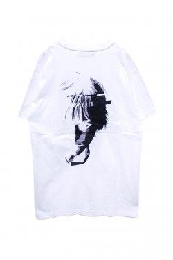 MUZE - FACE SOUVENIR TEE(WHITE) ミューズ Tシャツ