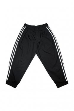 elconductorH - WOOL BASEBALL TROUSERS 'GENTLEMAN (BLACK) コンダクター トラウザー