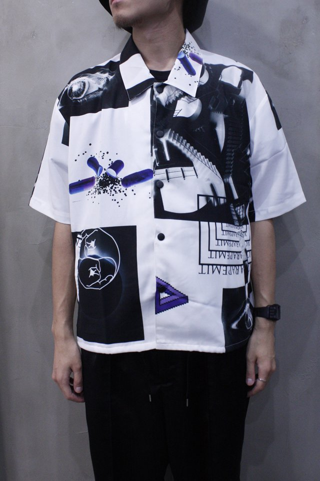 【6月25日(月)20時〜発売】PARADOX × H>FRACTAL - GRAPHIC COACH SHIRTS (CONTRADICTION) パラドックス シャツ