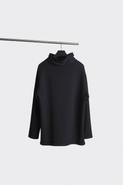 MINUS - HIGH NECK KIMONO SWEAT SHIRT マイナス スウェット