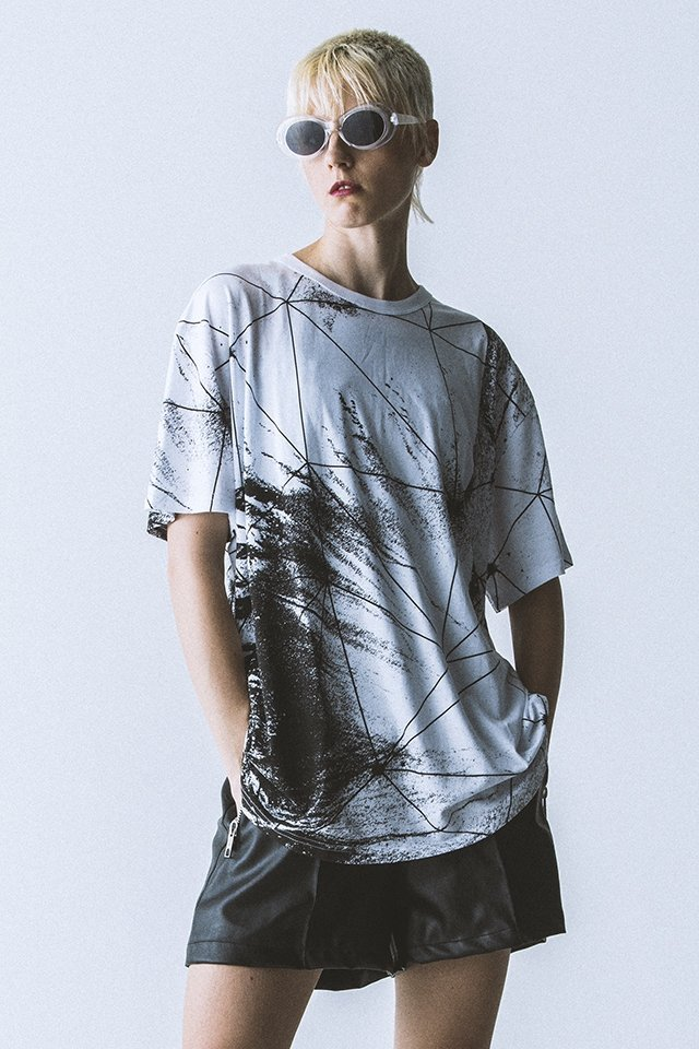 【40%OFF】PARADOX - GRAPHIC BIG TEE (GEOSOIL)