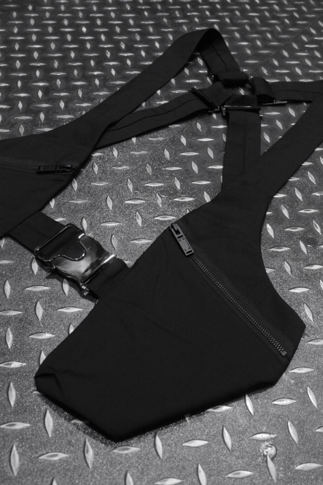 【MUZE GALLERY限定商品】MUZE - GILLET BAG(BLACK)