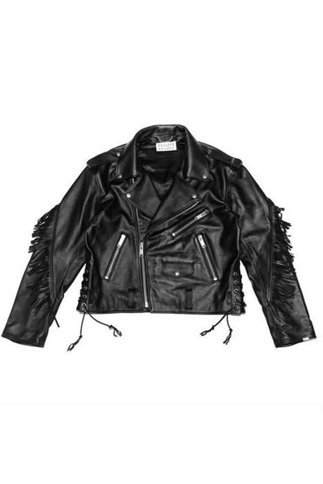 el conductorH - LEATHER BIKER JACKET 'JIMMY