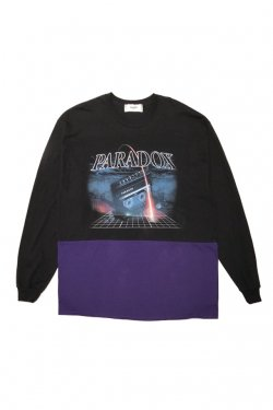 PARADOX - SPACE X L/S TEE(BLACK)
