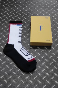 MUZE × LIFE WITH FUN - SOCKS (RED)