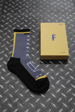 MUZE × LIFE WITH FUN - SOCKS (YLW)