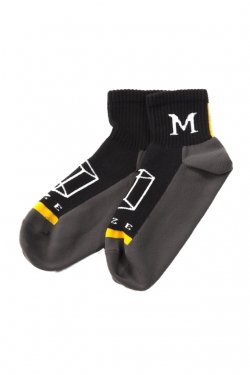 MUZE × LIFE WITH FUN - SHORT SOCKS (YLW)