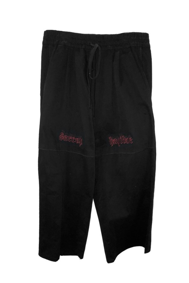 【30%OFF】KOMAKINO - SARCOHAGIDAE ELASTICATED TROUSERS