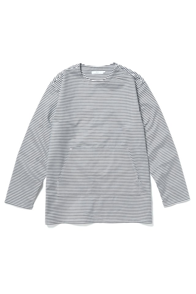 【20%OFF】ETHOS - BORDER SHIRTS L/S TEE