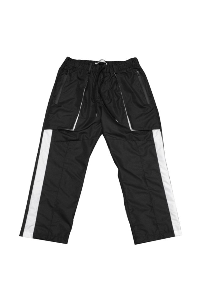 MUZE - RAIN SLACKS(BLACK)