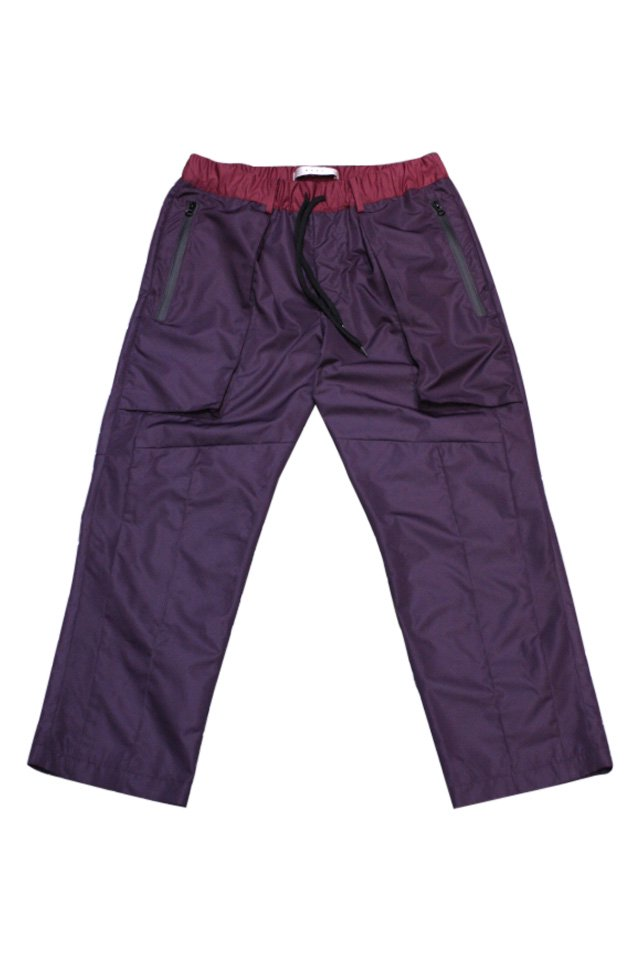 MUZE - RAIN SLACKS(PURPLE)